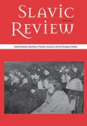 Slavic Review Volume 76 - Issue 4 -