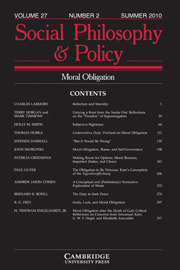 Social Philosophy and Policy Volume 27 - Issue 2 -