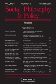 Social Philosophy and Policy Volume 34 - Issue 2 -