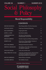 Social Philosophy and Policy Volume 36 - Issue 1 -
