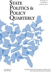 State Politics & Policy Quarterly Volume 15 - Issue 1 -