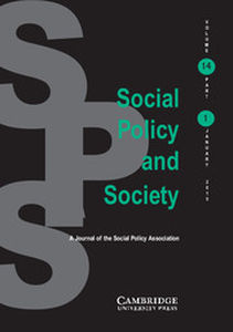 Social Policy and Society Volume 14 - Issue 1 -
