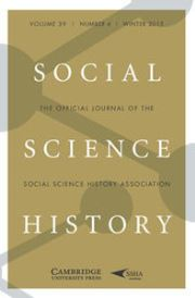 Social Science History Volume 39 - Issue 4 -