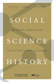 Social Science History Volume 43 - Issue 2 -