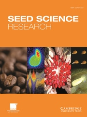 Seed Science Research