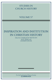 Studies in Church History Volume 57 - Issue  -