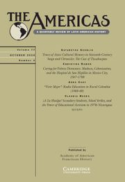 The Americas Volume 77 - Issue 4 -