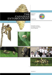 The Canadian Entomologist Volume 144 - Issue 5 -