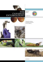 The Canadian Entomologist Volume 147 - Issue 6 -