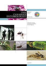 The Canadian Entomologist Volume 148 - Issue 1 -
