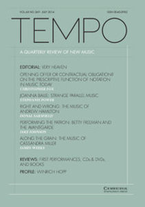 Tempo Volume 68 - Issue 269 -