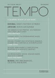 Tempo Volume 71 - Issue 280 -