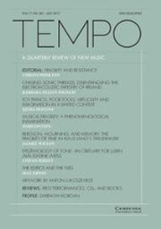 Tempo Volume 71 - Issue 281 -