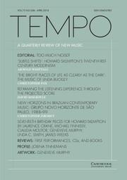 Tempo Volume 72 - Issue 284 -