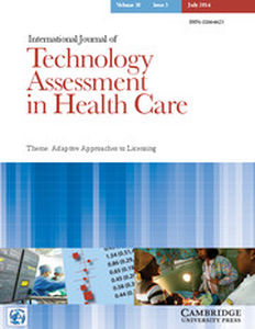 International Journal of Technology Assessment in Health Care Volume 30 - Issue 3 -  Theme: Adaptive Approaches to Licensing