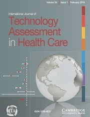 International Journal of Technology Assessment in Health Care Volume 34 - Issue 1 -
