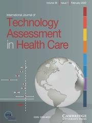International Journal of Technology Assessment in Health Care Volume 36 - Issue 1 -