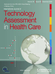 International Journal of Technology Assessment in Health Care Volume 36 - Special IssueS1 -  Attaining, Maintaining, and Sustaining Healthcare Systems in a Changing World: The Role of HTA