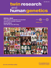 Twin Research and Human Genetics Volume 16 - Issue 1 -  Twin registries worldwide: An important resource for scientific research