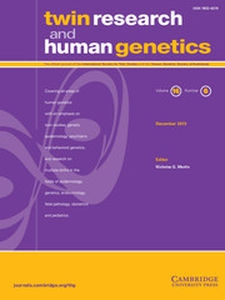 Twin Research and Human Genetics Volume 16 - Issue 6 -