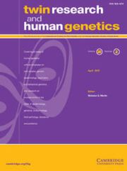 Twin Research and Human Genetics Volume 20 - Issue 2 -