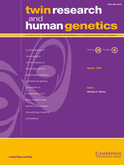Twin Research and Human Genetics Volume 22 - Issue 4 -