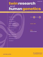 Twin Research and Human Genetics Volume 23 - Issue 5 -