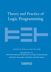 Theory and Practice of Logic Programming Volume 18 - Special Issue3-4 -  34th International Conference on Logic Programming