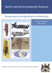 Earth and Environmental Science Transactions of The Royal Society of Edinburgh