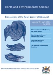 Earth and Environmental Science Transactions of The Royal Society of Edinburgh Volume 101 - Issue 2 -