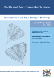 Earth and Environmental Science Transactions of The Royal Society of Edinburgh Volume 99 - Issue 2 -