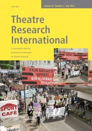 Theatre Research International
