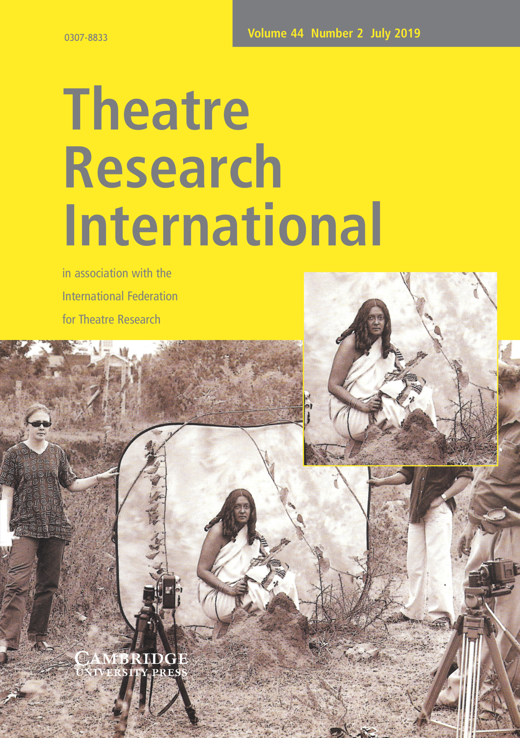 Theatre Research International | Latest issue | Cambridge Core