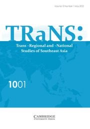 TRaNS: Trans-Regional and -National Studies of Southeast Asia