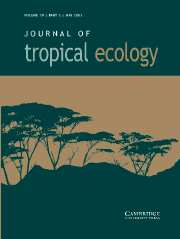 Journal of Tropical Ecology Volume 19 - Issue 3 -