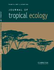 Journal of Tropical Ecology Volume 20 - Issue 1 -