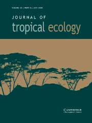 Journal of Tropical Ecology Volume 20 - Issue 4 -