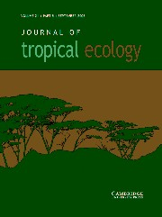 Journal of Tropical Ecology Volume 21 - Issue 5 -
