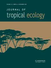 Journal of Tropical Ecology Volume 21 - Issue 6 -