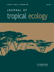 Journal of Tropical Ecology Volume 22 - Issue 6 -