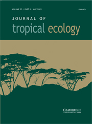 Journal of Tropical Ecology Volume 25 - Issue 3 -