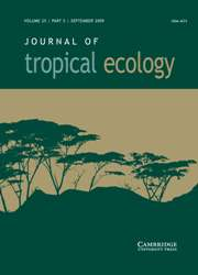 Journal of Tropical Ecology Volume 25 - Issue 5 -
