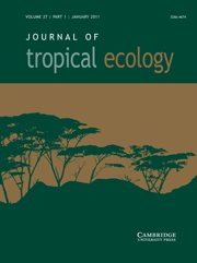 Journal of Tropical Ecology Volume 27 - Issue 1 -