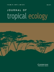 Journal of Tropical Ecology Volume 29 - Issue 3 -