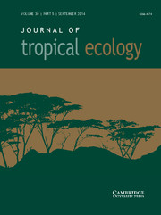 Journal of Tropical Ecology Volume 30 - Issue 5 -