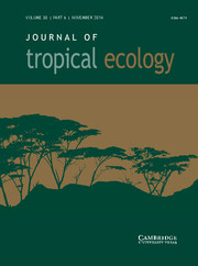 Journal of Tropical Ecology Volume 30 - Issue 6 -