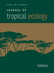 Journal of Tropical Ecology Volume 31 - Issue 1 -