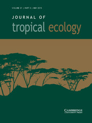 Journal of Tropical Ecology Volume 31 - Issue 3 -