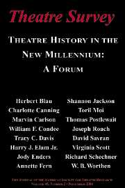 Theatre Survey Volume 45 - Issue 2 -