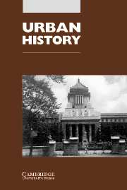Urban History Volume 31 - Issue 1 -